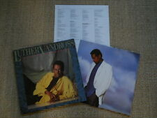 Luther Vandross Give me the Reason  - OIS Lyriks - LP - (M-)
