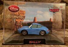 Disney store Die cast Cars Sally Porsche 911 Carrera 1:43 NEW in Collectors case