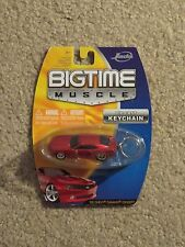 Bigtime Muscle Diecast Keychain 2006 06 Chevy Camaro Concept Red 1:64 MOC