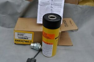 ENERPAC RCH-123 Hollow Hydraulic Ram, Cylinder Hollow Plunger, 12 Ton NEW