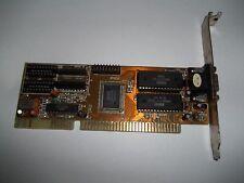 VINTAGE scheda Video grafica da 16BIT SLOT ISA VGA RETROCOMPUTER 286 386 486 (2)