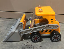 Hape Wooden Great Big Digger Kids Bulldozer Truck Construction Vehicle Toy