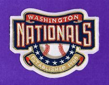 WASHINGTON NATIONALS MLB EMBROIDERED NATIONAL LEAGUE  (4 inches wide) EMBLEM