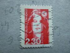 Timbre france Variété Marianne du Bicentenaire n° 2614 oblitéré