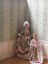 1:12 Scale Dollhouse Miniature Artisan Doll by Debra Hammond COLONIAL LADY WOMAN