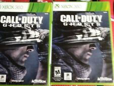 Call of Duty ghosts for xbox 360 2pc lot