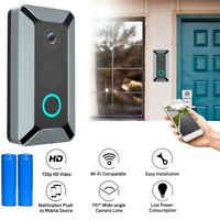 US Smart WiFi Doorbell Camera Video Wireless Visual Ring Door Bell CCTV Intercom