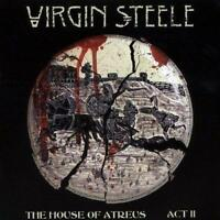 VIRGIN STEELE - THE HOUSE OF ATREUS ACT II 2CDs (New Sealed) CD Metal Rock