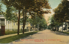Titusville PA * West Main St. Looking East from Washington St. 1912
