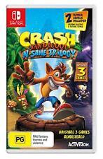 Crash Bandicoot N.Sane Trilogy Nintendo Switch Game Brand New