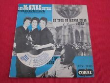 POCHETTE SEULE !!! VIDE LES Mc GUIRE SISTERS AROUND THE WORLD 1958