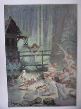 PLANCHE EN COULEUR 1898 D APRES FIRMIN FOUISSET LES ANGES CHANTIERS DE LA FLOTTE