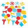 Carnival Plastic Toy Assortment - Toys - 100 Pieces