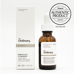 The Ordinary Retinol 0.5% in Squalane | USA SELLER | Authentic Product