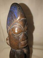 Early Yoruba Ibeji Twin Female African Tribal Carved Figure