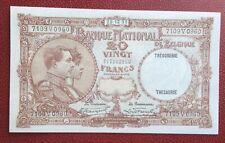 Belgique -Magnifique  Billet de 20 Francs du 28-12-1931 / Unc - rare en état (2)