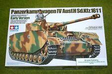 Tamiya German PANZERKAMPFWAGEN IV Ausf.H Sd.Kfz.161/1 Early 1/35 Scale Kit 35...