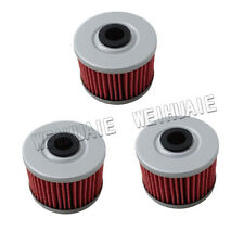 3pcs Oil Filter For KAWASAKI KFX450R KFX450 KFX 450R 450 2008 2009 2010