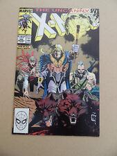 Uncanny X-Men 252 . Jim Lee Cover . Marvel 1989 . VF
