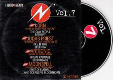 CD CARDSLEEVE COLLECTOR 12T Hard N' Heavy KORN/JUDAS PRIEST/ARTSONIC/MOONSPELL