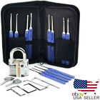 Keysy Locksmith Multi Tool Set (17pcs +1 transparent practice Lock) US seller