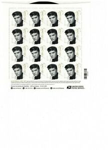 Scott # 5009, Music Icon, Elvis Presley - Pane of 16 Forever Stamps - 2015 - MNH