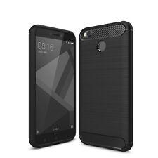 Xiaomi MI 5X A1 Handyhülle Hülle Handy Schutz Carbon Case Cover Schutzhülle Matt