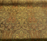 Clubroom Paisley Java Pk Lifestyles Chenille Upholstery Fabric By The Yard