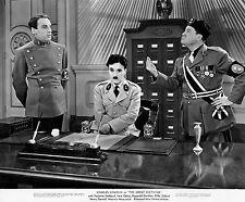 Legendary Charlie Chaplin Classic Comedy, The Great Dictator Photo 8X10