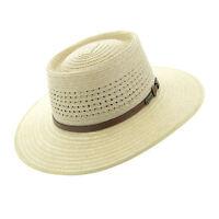 Akubra Byron Natural Straw Traditional Australian Made Bush Hat Size 51-65cm