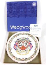 1981 royal wedding plate made in England by Wedgwood | Ceramic #A14