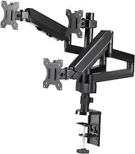 TechOrbits Triple Monitor Mount - Three Arms Computer Screen Stand - Full Gas 3