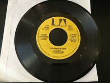 Promo 45 The Whitney Family - Love Is Where You Find It (Mono Stereo) UA NM