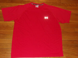 UNDER ARMOUR RUN HEATGEAR SHORT SLEEVE REGULAR FIT JERSEY MENS 2XL EXCELLENT