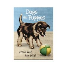 Dogs & Puppies, Cute Pets Animal Home Kitchen Novelty Gift Fridge Magnet