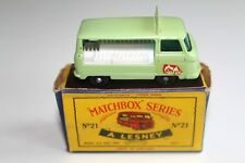 Lesney Matchbox No. 21 Milk Delivery Truck, near mint boxed