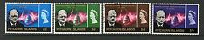 Pitcairn Islands 1966 churchill commemoration fine used set stamps