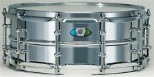 "Ludwig drums 5.5x 14"" SupraLite 1.5mm beaded steel shell snare drum LW5514SL NEW"