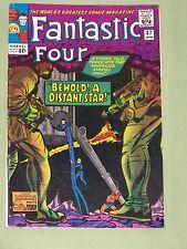 "FANTASTIC FOUR, Comic #37 - 1965, ""Behold! A Distant Star!"", Fine Plus Condition"