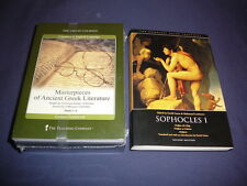 Teaching Co Great Courses CD   MASTERPIECES of ANCIENT GREEK LITERATURE  + bonus