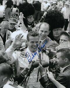 GFA Indianapolis Indy 500 x3 Champion BOBBY UNSER Signed 8x10 Photo B5 COA