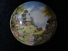 """COALPORT collectionneurs plaque-Le conte des pays village série """"le moulin à vent"""""""