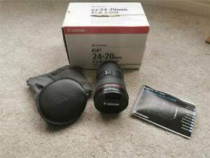 Canon EF 24-70mm F2.8 II USM Lens (Excellent Condition)
