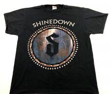 Shinedown Amaraylis 3/27/12 Tour Rock Band Music Tee  Black T-Shirt Size L W2