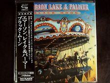Emerson, Lake & Palmer Black Moon Japan SHM-CD Mini LP OBI Brand New VICP-70161