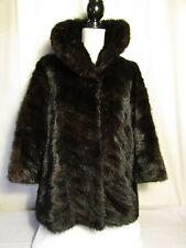 veste vintage vison d'élevage Campo Burgos  marron 38/40