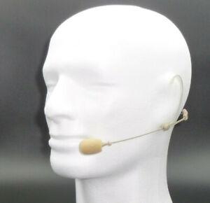 Headset Mikrofon * Superniere * Profiqualität * hautfarben 3,5 mm Miniklinke