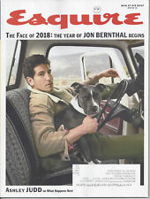 Esquire (winter '18) -Jon Bernthal,Dubious Achievements -print inset address box