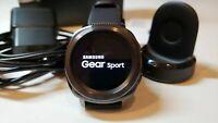 Samsung Gear Sport Hybrid Band 44.6mm Classic Buckle Black Band SM-R600 R6S