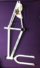 Old School BMX - 1987 GT Pro Series - Frame and Forks - Chrome 4130 White